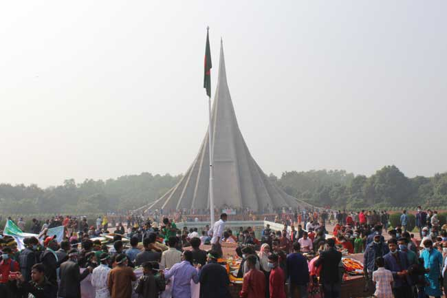 Nation celebrating 50th Victory Day amid pandemic   – National – observerbd.com