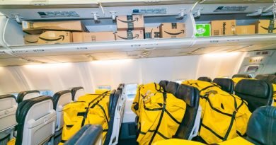 Alaska Airline's new cargo-in-cabin 737-900