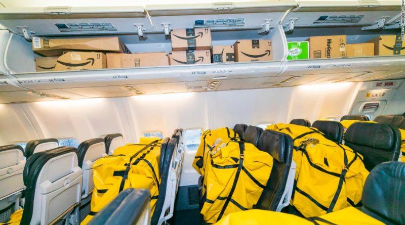 Alaska Airline's new cargo-in-cabin 737-900
