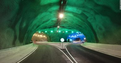 Striking new underwater traffic circle opening in the Faroe Islands