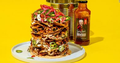 Would you eat nachos from a trash can?