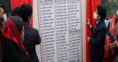 Names of tea workers' killed in '71 massacre unveiled – Countryside – observerbd.com