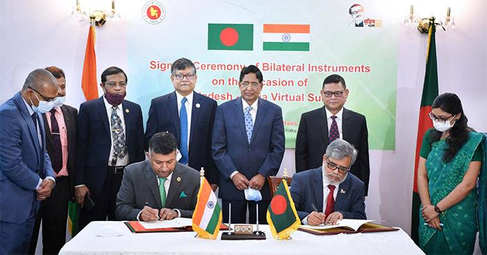 Bangladesh, India ink seven MoUs as Hasina-Modi summit starts