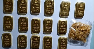 Man held with 14 gold bars at Sylhet airport – National – observerbd.com
