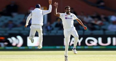 India dismiss Australia inside a day to lead in Adelaide