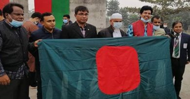 Probe into distortion of national flag at Rokeya University begins – National – observerbd.com
