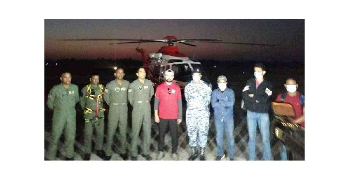 Air Force rescues 4 missing tourists  – National – observerbd.com