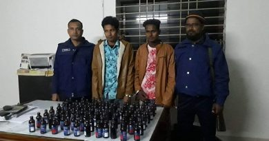 2 held with Phensedyl in Thakurgaon – Countryside – observerbd.com
