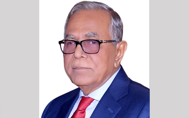 President mourns death of AL leader AKM Jahangir Hossain