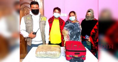 Couple held with 5 kgs hemp – Countryside – observerbd.com