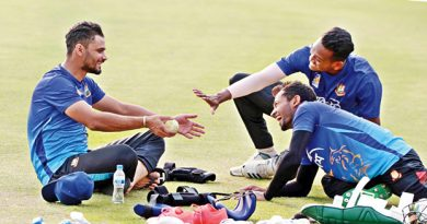 Al Amin wants Mashrafe in national team