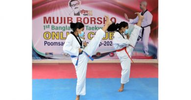 'Mujib Barsho' Taekwondo begins today