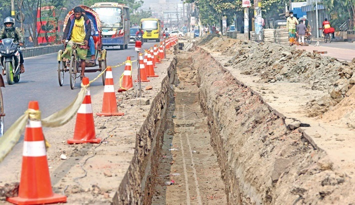Uttara road digging: DNCC files GD against Dhaka Wasa – National – observerbd.com