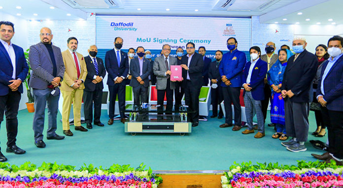 DCCI inks MoU with ICSB, Daffodil International University –  Education – observerbd.com