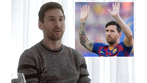 Messi says Barca  'my life' but keeps  mum on future