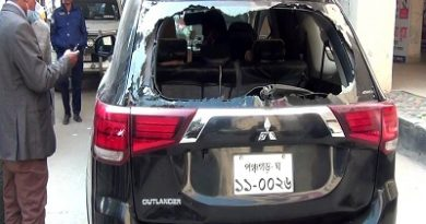Case filed in Panchagarh over vandalising RO's car  – Countryside – observerbd.com