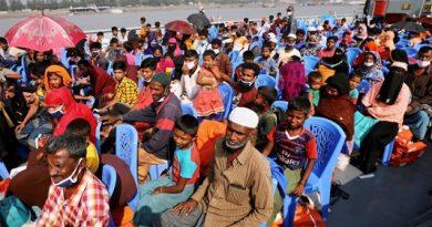 2nd batch of Rohingyas starts reaching Bhasan Char