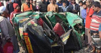Couple killed as train rams auto-rickshaw in Cumilla  – Countryside – observerbd.com