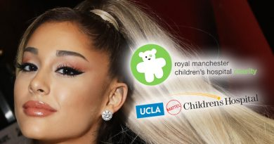 Ariana Grande Plays Santa for Kids at Children's Hospitals