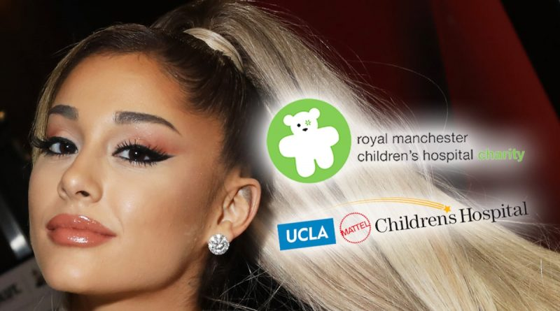 Ariana Grande Plays Santa for Kids at Children's Hospitals