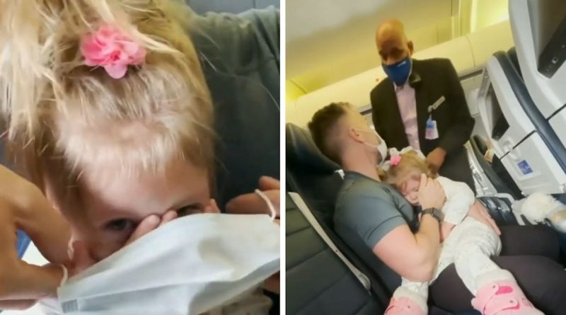 United Airlines Bans Family for Life Because 2-year-old Refuses To Wear Mask