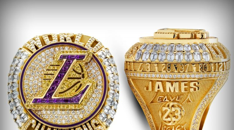 Los Angeles Lakers Honor Kobe Bryant On Championship Rings