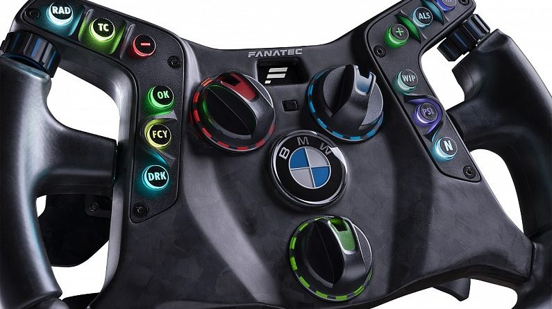 Fanatec and BMW team up for sim and real-world racing steering wheel - Esports