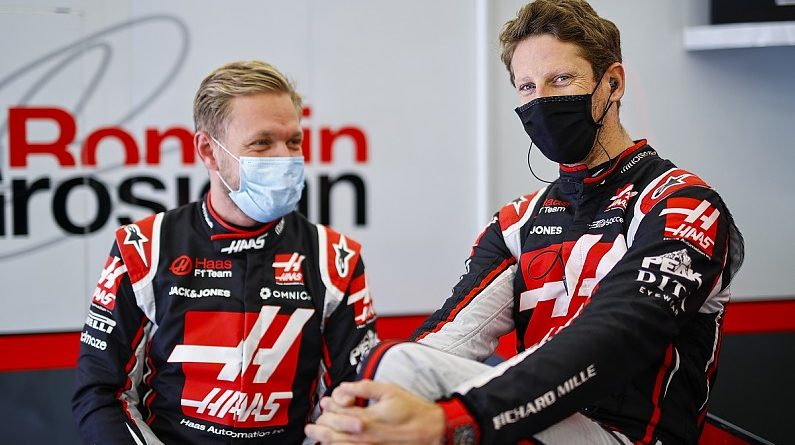 "Magnussen: Grosjean's ""phenomenal"" speed made me a better qualifier 