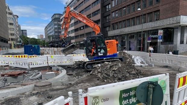 'Zero-emissions' building sites ditch diesel machinery in Oslo, Norway
