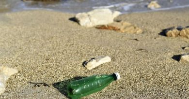 Satellite trackers help map journey of plastic waste to the ocean