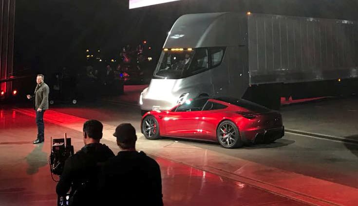 Tesla job openings for Semi truck production lines in Nevada
