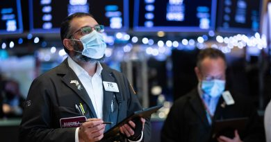 Stock futures flat after markets hit records in previous session, Biden takes office