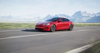 Tesla Model S update shown in Q4 2020 earnings release