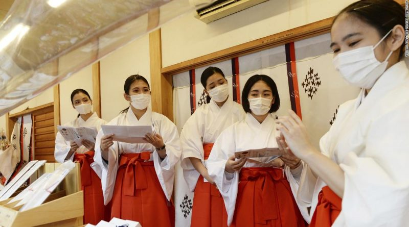 Furloughed Japanese airline staff to work as Shinto temple attendants during New Year's holidays