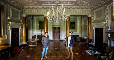 Couple spends lockdown making over Irish stately home