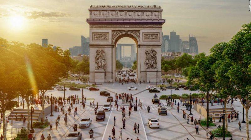 Champs-Élysées in Paris set for green overhaul