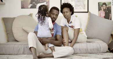 Bobi Wine:18 month old baby under house arrest 'safely evacuated'