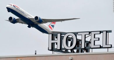UK imposes hotel quarantine for travelers from Covid hotspots