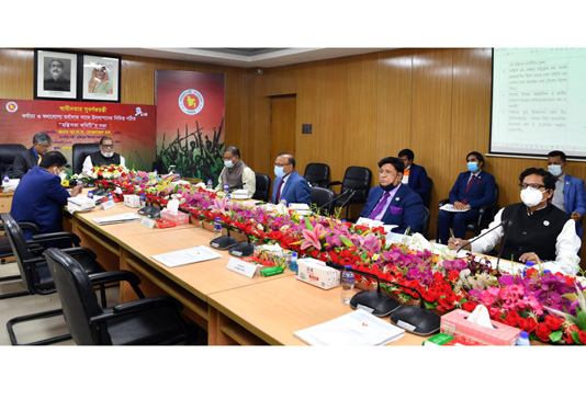 Cabinet Committee meeting on golden jubilee of independence held – National – observerbd.com