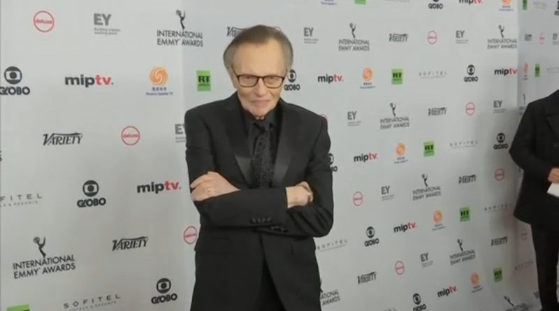 Broadcaster Larry King 'in hospital with Covid' | The Asian Age Online, Bangladesh