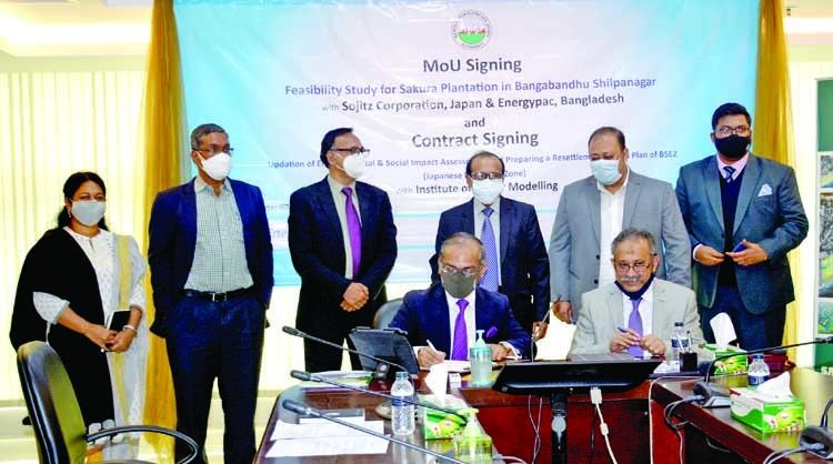 BEZA, Sojitz Corporation to set up Sakura Garden | The Asian Age Online, Bangladesh