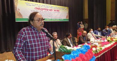 Bangabandhu sets bright instance of communal harmony in Bangladesh: Liton