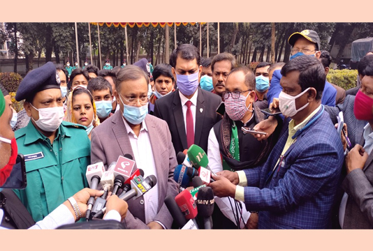 Bangladesh will get COVID-19 vaccine from India in time: Hasan
