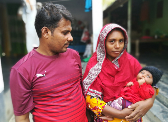 Pregnant women getting institutional delivery facilities in Rajshahi