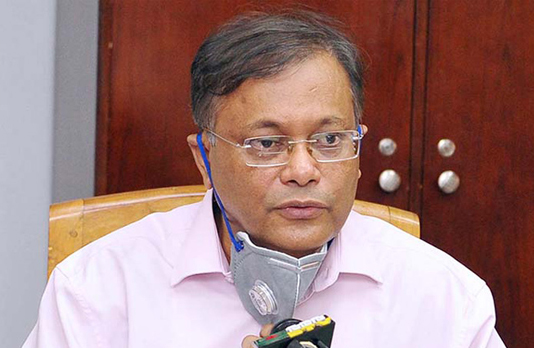 BNP's politics over COVID-19 vaccines will go in vain: Hasan