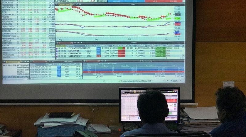 Dhaka stocks down at opening