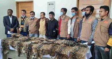 2 poachers held with 19 deer hides in Bagerhat – Countryside – observerbd.com