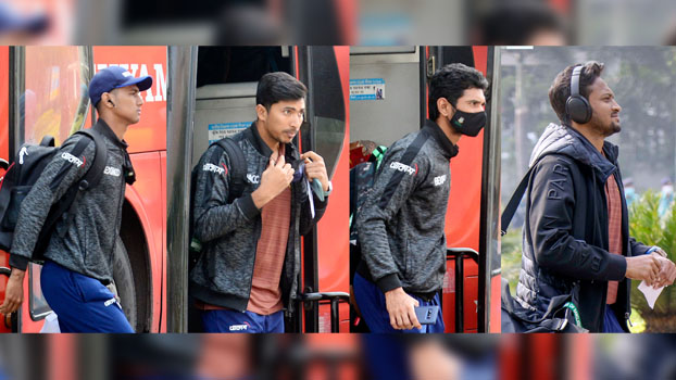 Tigers arrive in Chattogram for mission whitewash