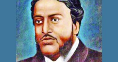 Michael Madhusudan Dutt's 197th birth anniversary being observed