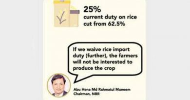 No to import tax cut on rice, edible oil